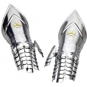 Knight Templar Armor Gauntlets