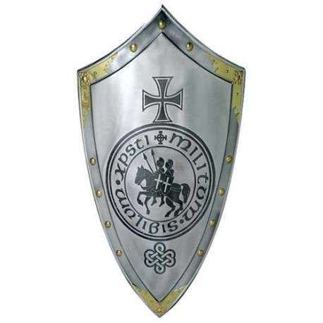 Knights Templar Cross and Seal Shield
