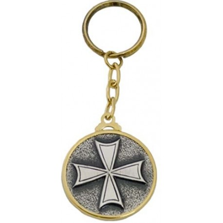Cross of Hospitallers Keychain