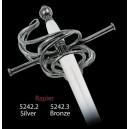 Miniature Renaissance Rapier Sword (Silver)