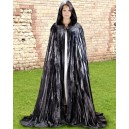 Midnight Fantasy Cloak Grey-Fantasy costume