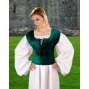 Velvet Bodice-Medieval clothing