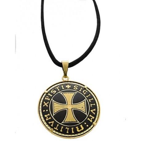 Damascene Templar Pendant