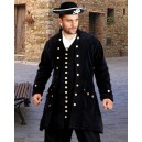 Captain De Lisle Coat-Pirate costumes