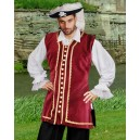 Captain Easton Pirate Vest-Pirate costumes