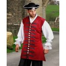 Captain England Pirate Vest-Pirate costumes