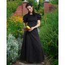 Black Medieval Chemise-Medieval clothing