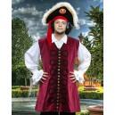 John Nutt Pirate Vest-Pirate costume