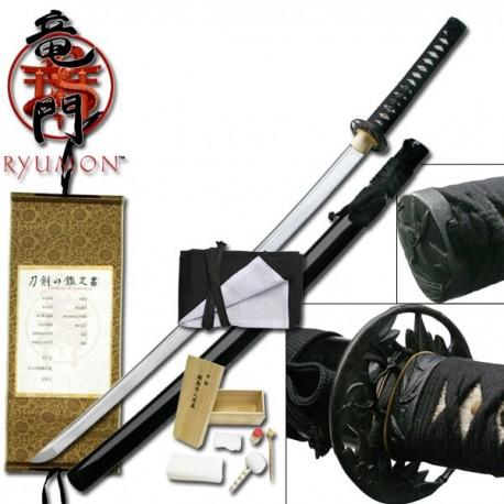 Ryumon Black Bamboo Katana RY-3051