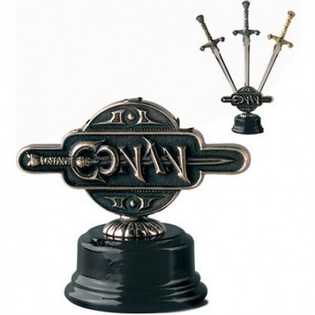 Display Stand for Miniature Conan Swords
