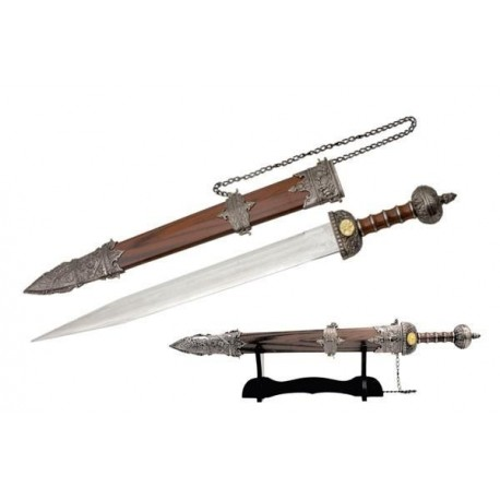 Roman Gladius Sword with Stand