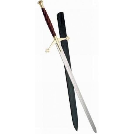 Spiral Royal Claymore Sword