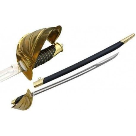 Gold Naval Cutlass Sword