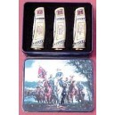 Set of 3 Confederate General Collector Pocket Knives