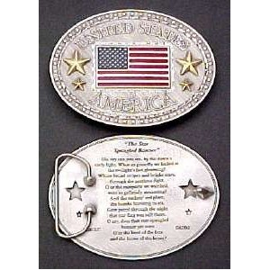 United States of America Belt Buckle