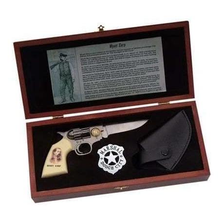 Wyatt Earp Gun Knife Set