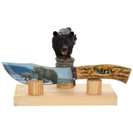 Bear Collector Stag Hunting Knife