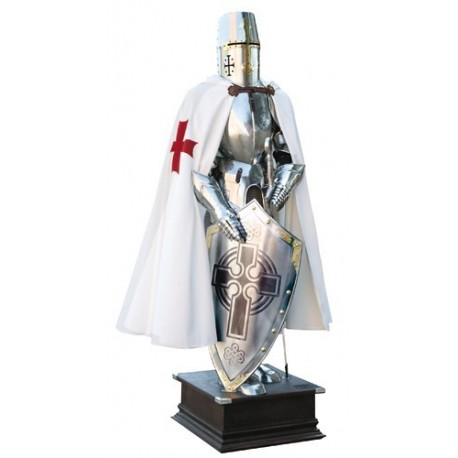 Templar Knight Suit of Armor by Marto-Scottish Cross