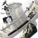 Ten Ryu Damascus Steel Jintachi White