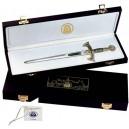 Presentation Box for Miniature Damascene Sword Letter Openers