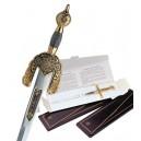 Miniature Damascene Boabdil Sword Letter Opener