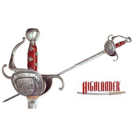 The Best of Highlander Duncan MacLeod Sword Silver
