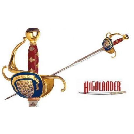 The Best of Highlander Duncan MacLeod Sword Gold