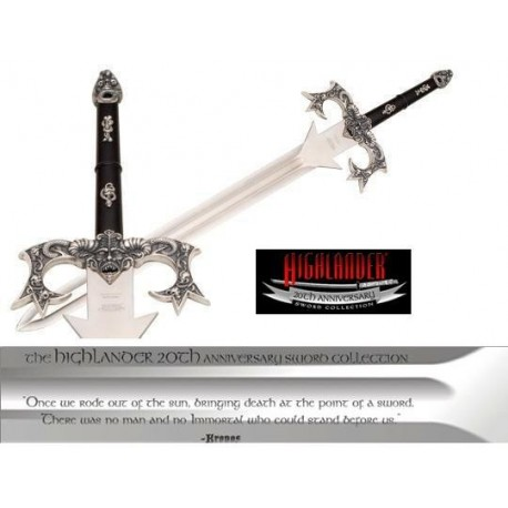 Highlander Kronos Sword by Marto Highlander 20th Anniversary