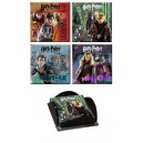 Harry Potter and the Deathly Hallows Part 2 Art Print Coaster Collection