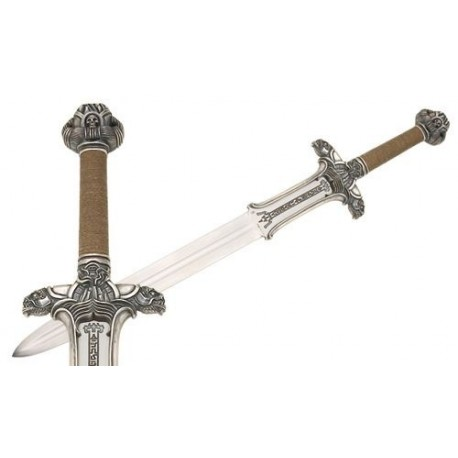 Conan the Barbarian Atlantean Sword (Silver) Detail