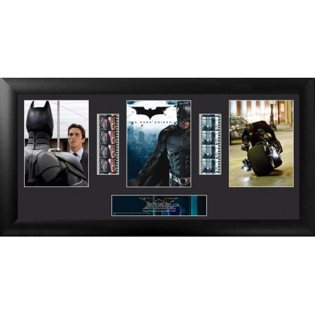 The Dark Knight Horizontal Trio Montage Film Cell