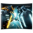 Tron Legacy (Light Cycle Battle) Fantasy Print