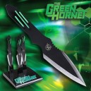 Green Hornet Throwing Knives