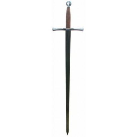Functional Templar Knight Medieval Battle Ready Sword