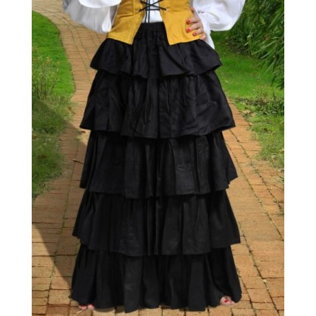 Frilly Medieval Skirt
