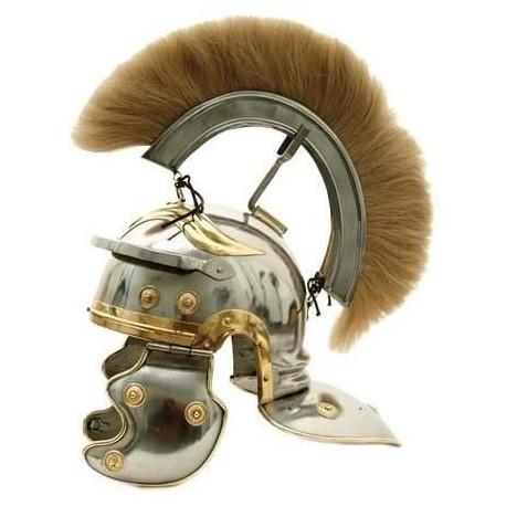 Roman Centurion Helmet White