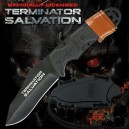 Terminator Salvation Knife Fixed Blade Black