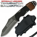 Terminator Salvation Knife Fixed Blade Silver