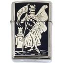Damascene Zippo Lighter (Pennant)