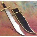 Medieval Falchion Sword of the Crusaders