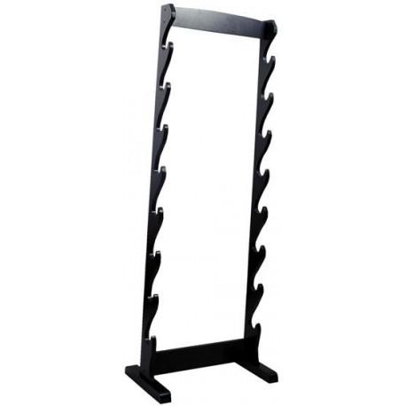Wood Eight Sword Floor Display Stand