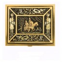 Damascene Quixote Square Pill Box