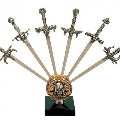Sword Letter Openers Display Stand