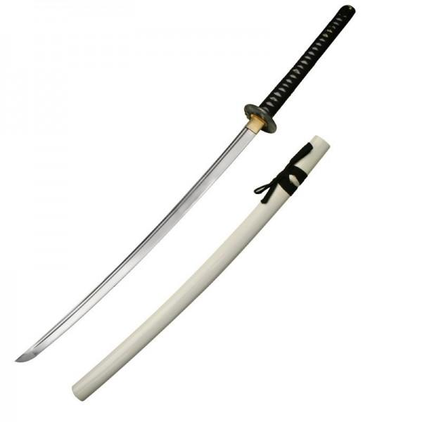 ... Cheap Samur... Japanese Katana Sword White