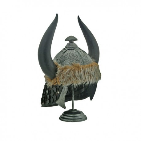 Barbarian Helmet with Horns