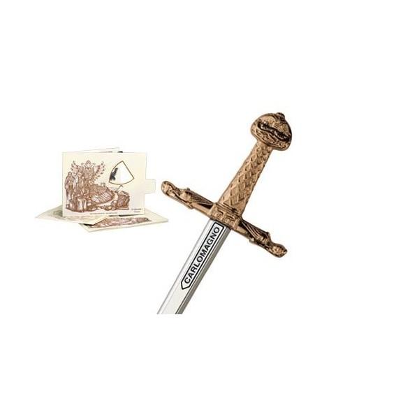 Miniature Swords > Mini Joyeuse-Sword of Charlemagne Bronze