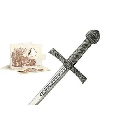 Mini Sword of King Richard Lionheart Silver