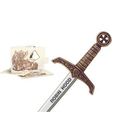 Miniature Robin Hood Sword Bronze