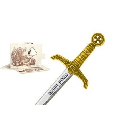Miniature Robin Hood Sword Gold