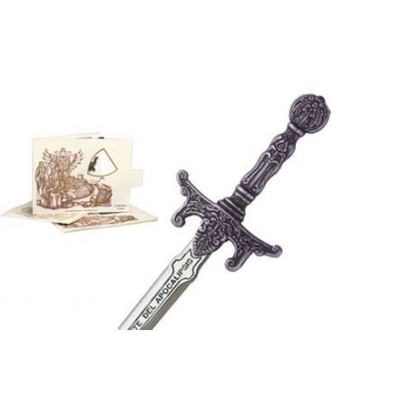 Mini Sword of Apocalypse Riders Silver